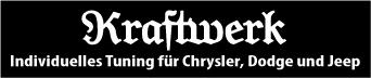 Kraftwerk-Gruppe.de Veredelung von Fahrzeugen der Marken Chrysler, Dodge und Jeep.